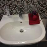 Waschbecken-Gästebad